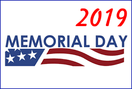 Memorial Day-No School